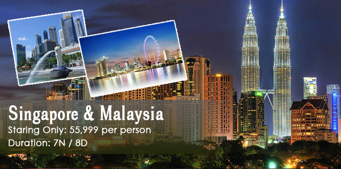Cheap Tour Packages To Thailand Singapore Malaysia And